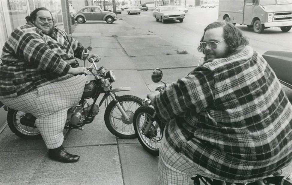 """The McGuire Twins """" Heaviest twins Billy Leon (1946–79) and Benny Loyd (1946 - 2001) McCrary, alias McGuire, were normal in size until the age of six. In November 1978, Billy and Benny weighed 743..."""