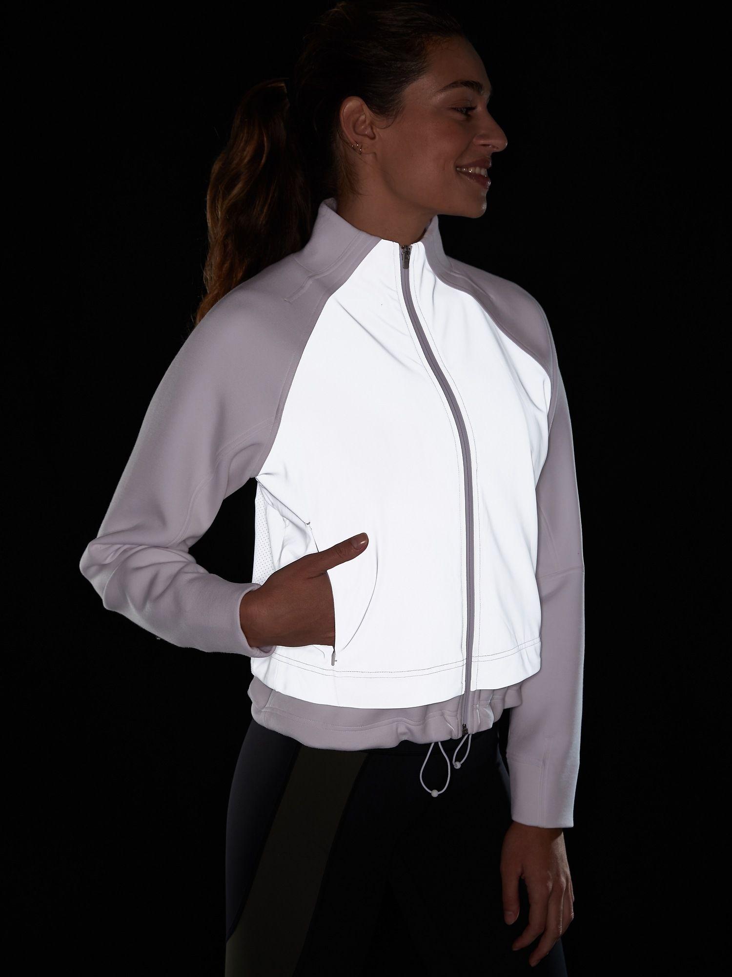 Break Out Reflective Jacket Athleta Reflective Jacket Jackets Fashion [ 2000 x 1500 Pixel ]