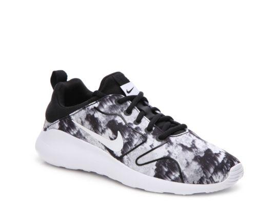 NEW Womens Nike KAISHI 2.0 RUN sz 9.5 BLUE ORANGE WHITE Shoes Sneakers