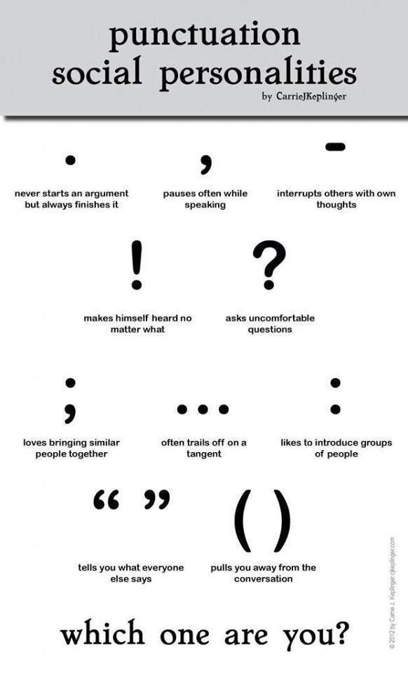 How To Use Punctuation Marks Properly