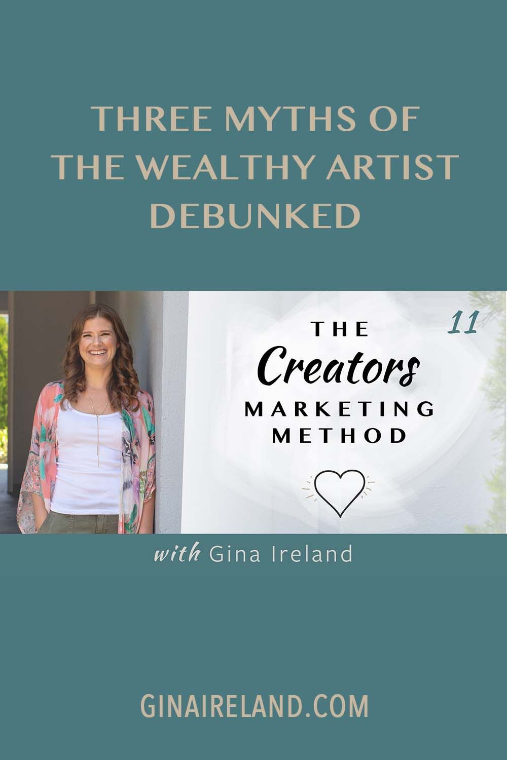 Do you have a creative business? Today I am going to talk about how to be a wealthy artist. Click here to listen to this podcast episode! #creativebusiness #creativeentrepreneur #artist #creativebusinesstips