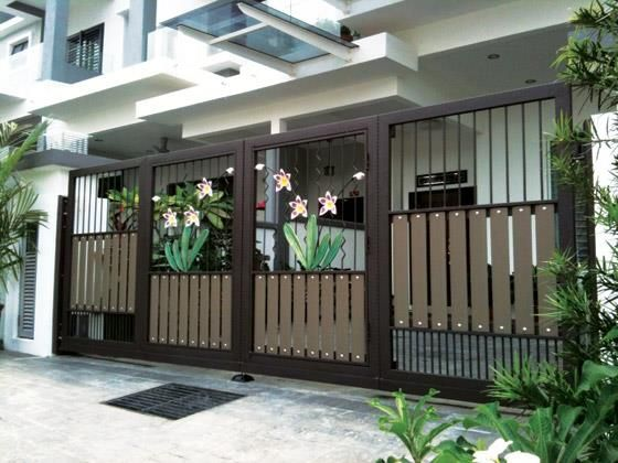 Driveway Gate Inspiration 4 Gates Fences In 2019 House Fence