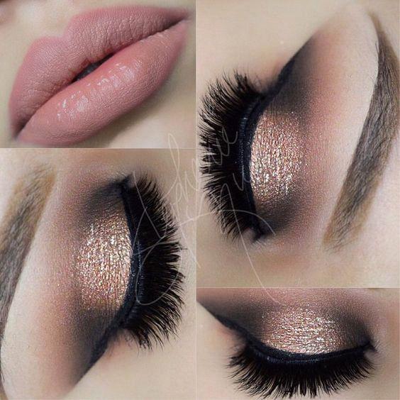 Pink Eye Makeup More MakeupMakeup With Black DressFormal