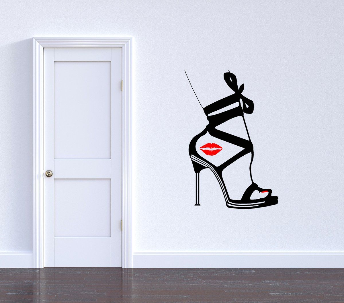 Best Reusable Vinyl Wall Decals Kiss Thy Mistress Feets Great And Simple Alternative To Painting On 400 x 300