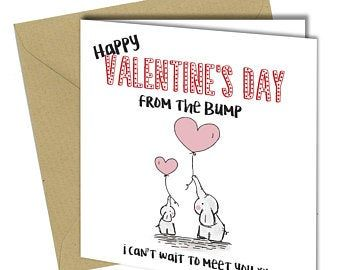 Rocket baby footprint card love you print happy birthday | Etsy
