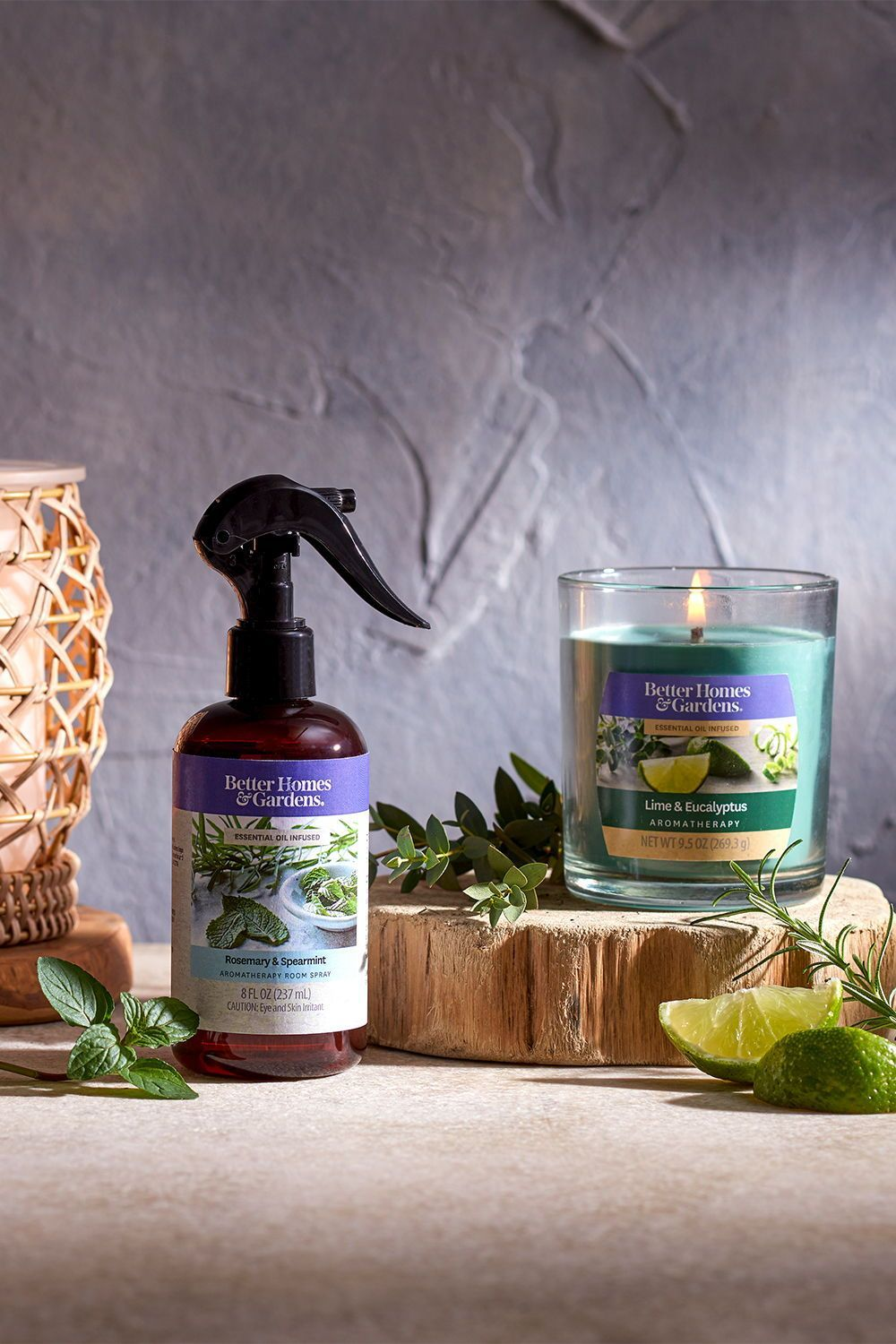 Better Homes & Gardens Scented Jar Candle, Lime and