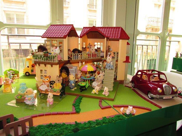 la grande maison clair e des sylvanianfamilies par papapanique jouet enfant parents. Black Bedroom Furniture Sets. Home Design Ideas