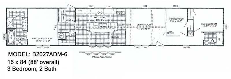 McCants Mobiles Homes Model B2027ADM 6