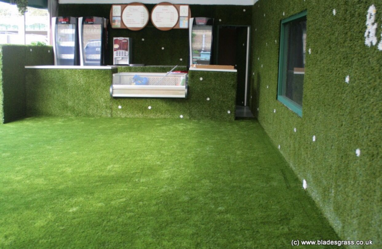 Fake grass rising up wall Artificial turf, Artificial