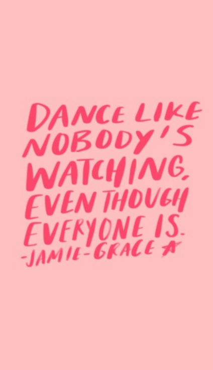 jamie grace lyrics - dance like nobody\'s watching, even though ...
