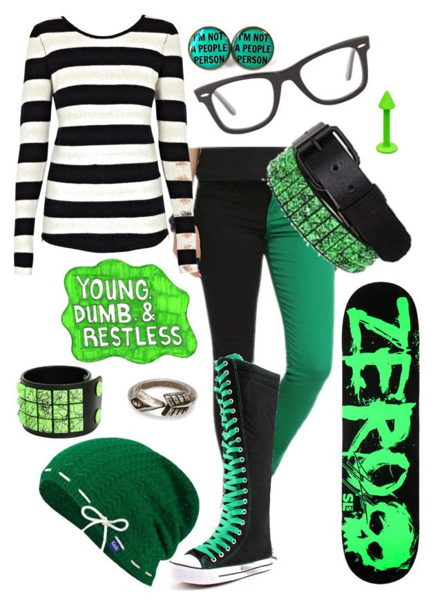 """""""Young, Dumb & Restless"""" by backstreet-rebel ❤ liked on Polyvore featuring Twist & Tango, Ray-Ban, BLVD Supply, Sharpie, TOMS and Keds"""