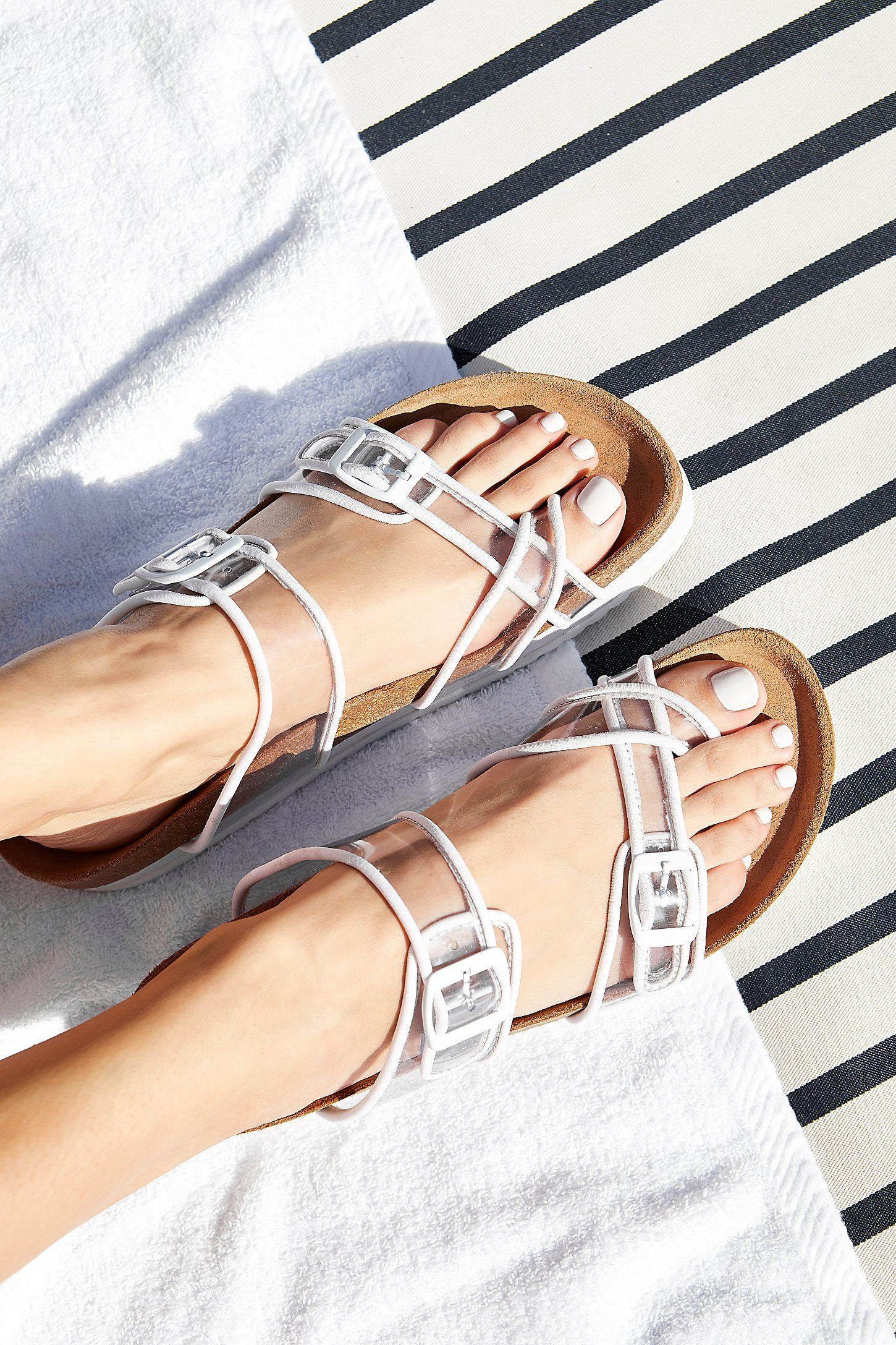 Clear Skies Footbed Sandal cheap sale low shipping 2014 new cheap price Tscq9