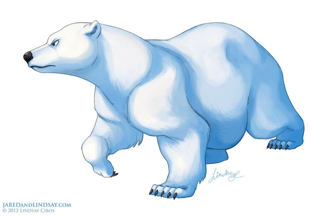 cute polar bear drawing how to draw a polar bear