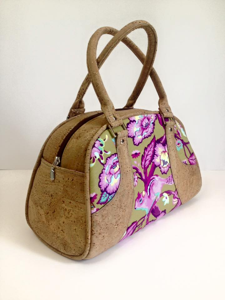 Maisie Bowler Handbag #SWN016 From Swoon Sewing Patterns | Cork ...