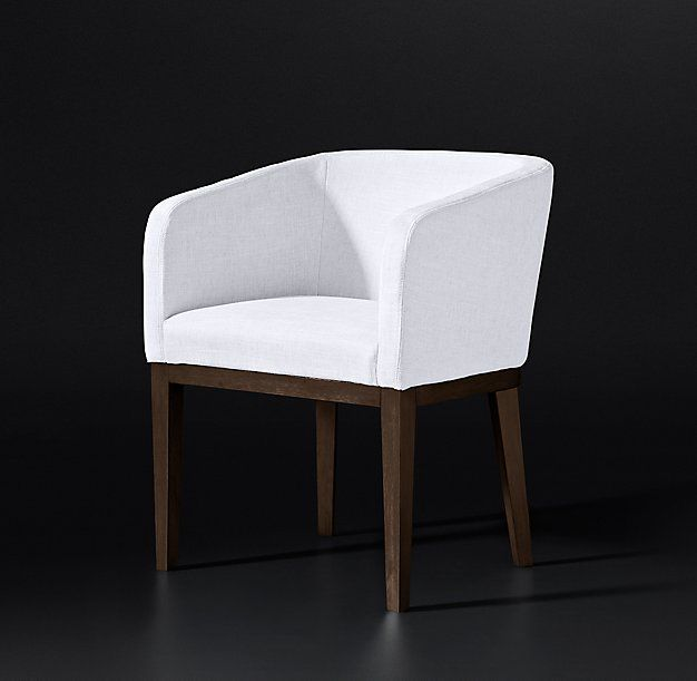 Morgan Barrelback Fabric Armchair Fabric Armchairs Upholstered Accent Chairs Dining Chair Slipcovers