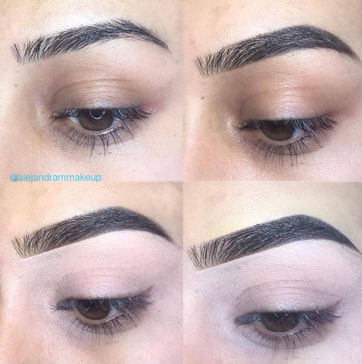 Mini Brow Tutorial Natural Looking Eyebrows Filled In Arched Eye