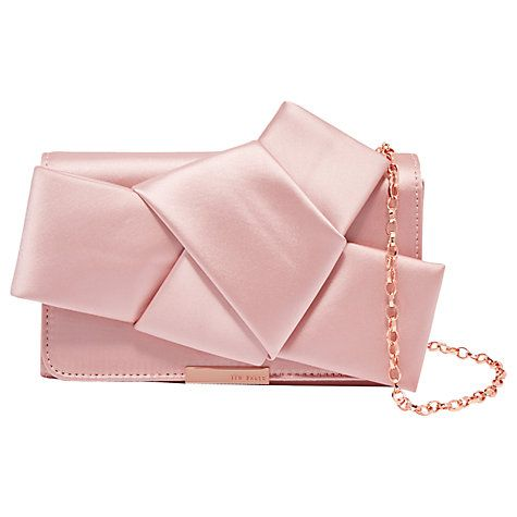 Ted Baker Fefee Knot Bow Evening Bag Online At Johnlewis