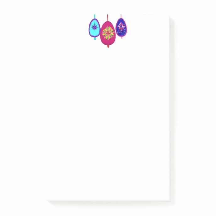 Post it notes with easter eggs design easter giftcards craft post it notes with easter eggs design easter giftcards craft supplies custom craft paper and diy easter gifts custom easter cards pinterest easter negle Image collections