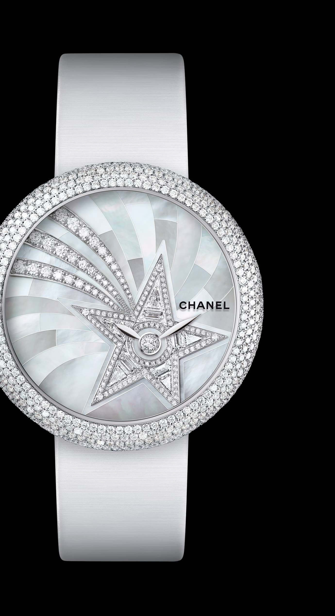2019 year for women- Mademoiselle chanel prive watch craftsmanship