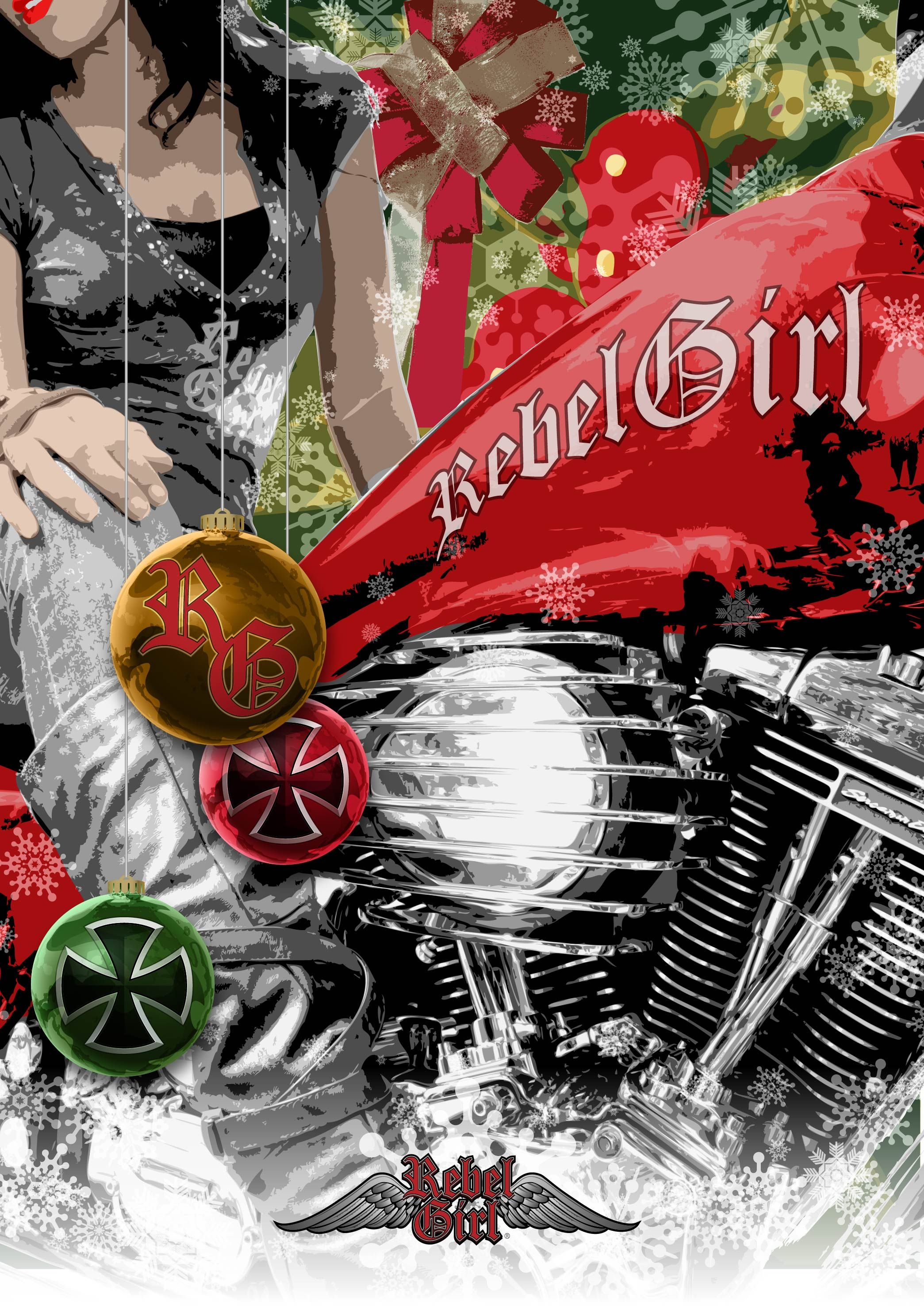 Christmas holiday motorcycle greetings rebelgirl christmas holiday motorcycle greetings rebelgirl kristyandbryce Image collections