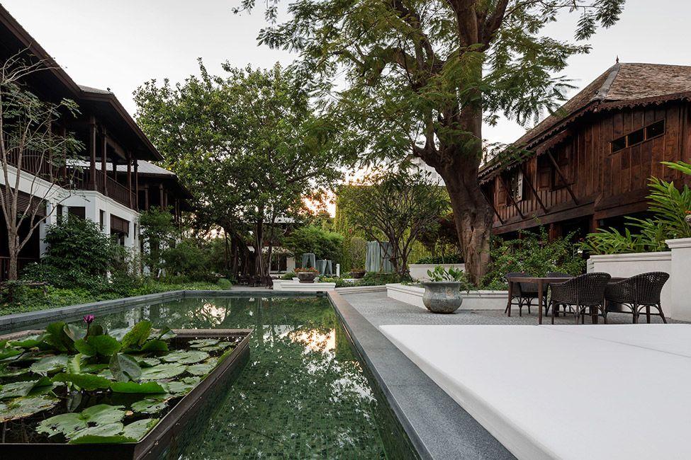 137 pillars house chiang mai thailand p landscape 09 for Thailand architecture