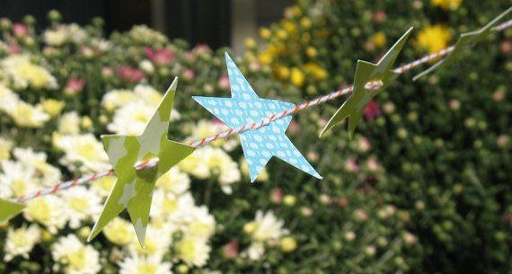 Stargazer  Decorative Banner / Garland by momentinthesun on Etsy