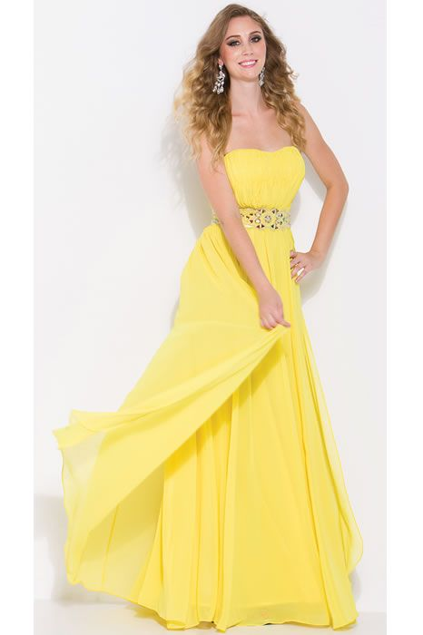 Yellow Prom Dresses Under 100 Dollars - Ocodea.com