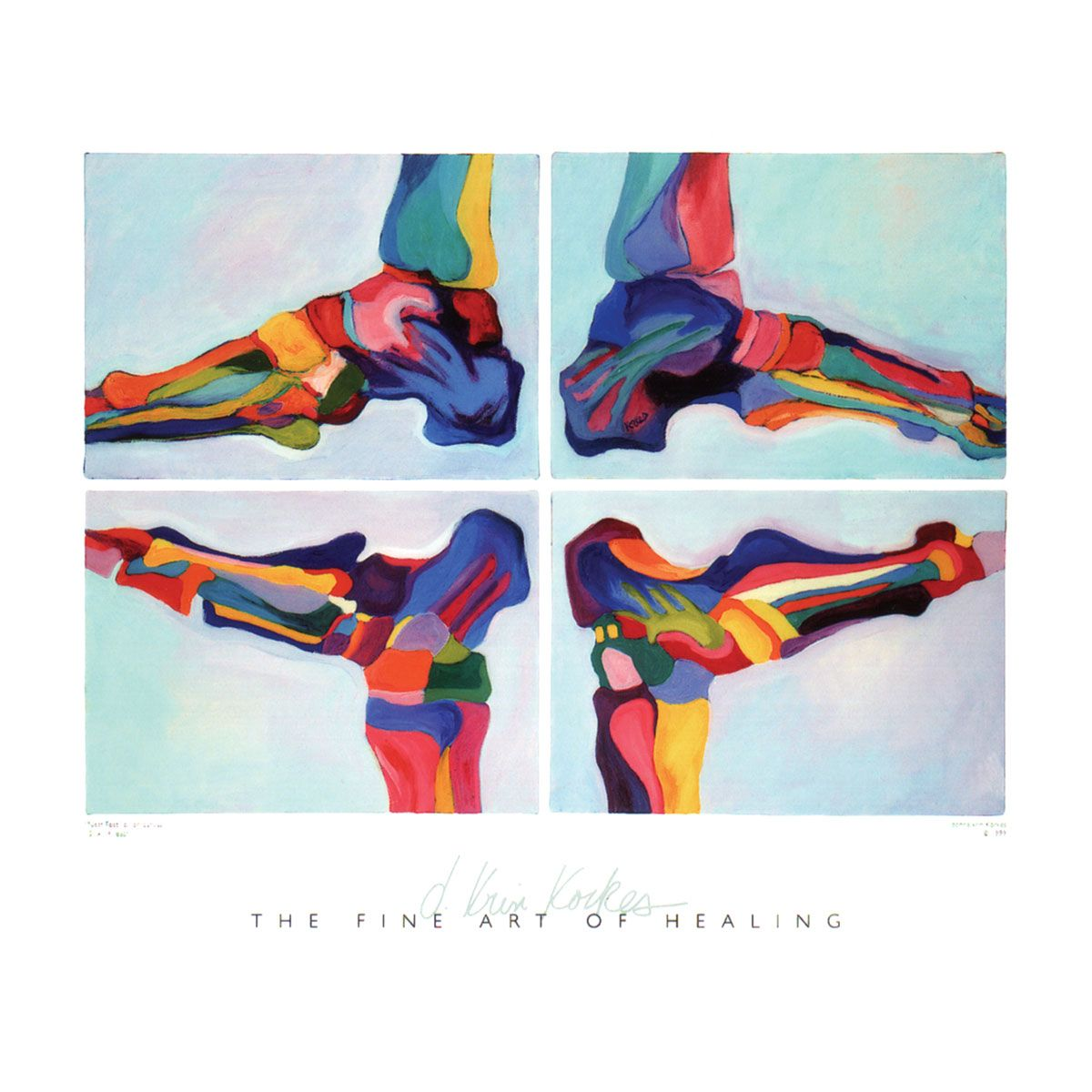 Med/ART™ Neat Feet - Anatomy Posters - Decorative Medical Gift Ideas ...