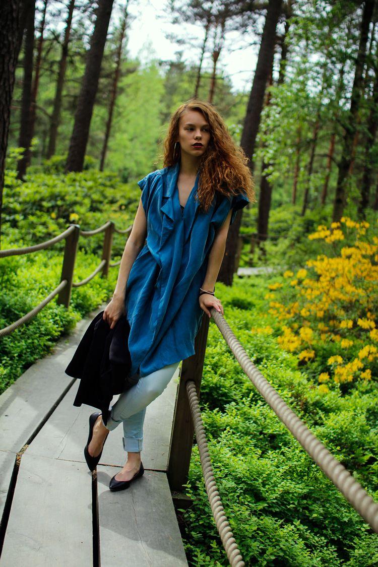 JAVS: WEAR IT TWO WAYS | Everyday Blue Dress