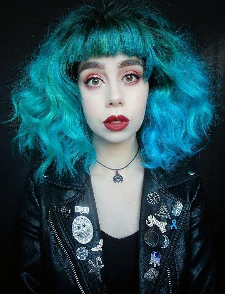 21 Blue Hair Ideas That You Ll Love Ramona Flowers Hair Hair