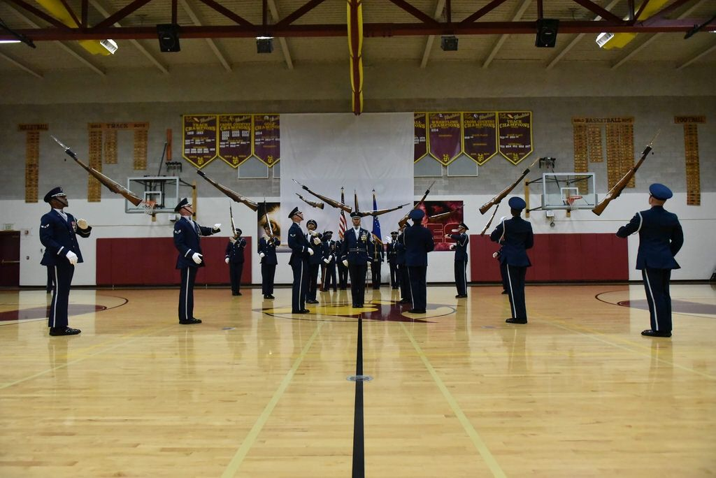 US Air Force Honor Guard Drill Team Belt High School Great