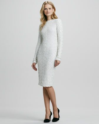 Adrienne Fitted Sequined Dress by Rachel Zoe at Bergdorf Goodman.