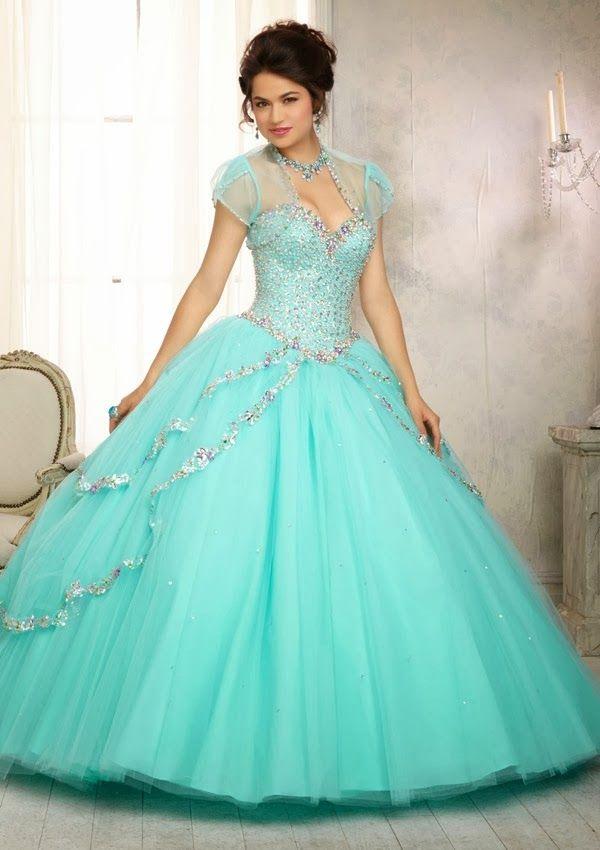 777cd81f0 Grandiosos vestidos de Quinceanera