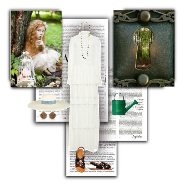 """""""There are secrets in my garden"""" by angelicallxx ❤ liked on Polyvore"""