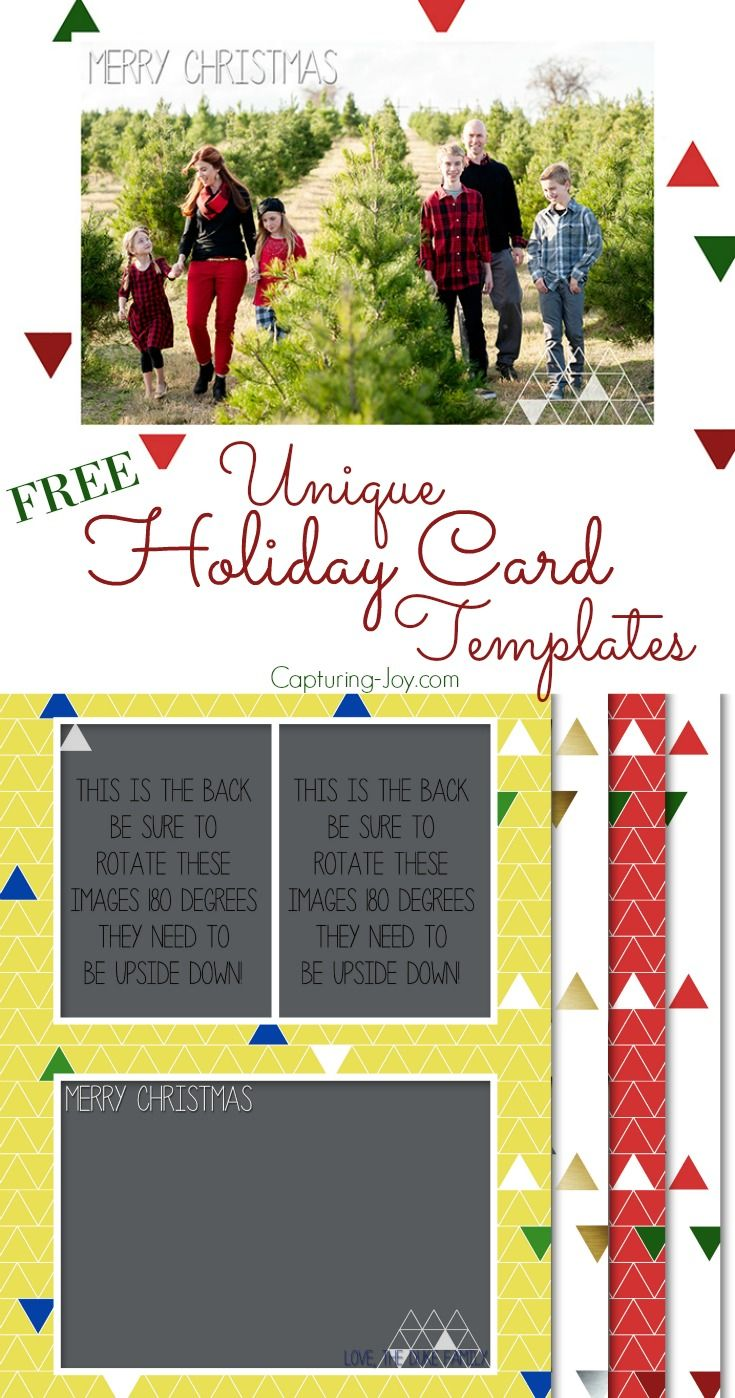 Free Holiday Or Anytime Card Templates Christmas Pictures