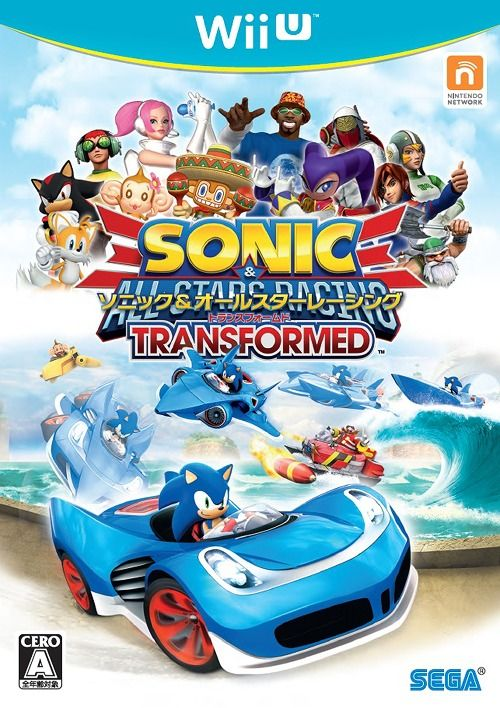 Sonic Sega All Stars Racing Transformed Game Wii U Sonic Wii U Sega