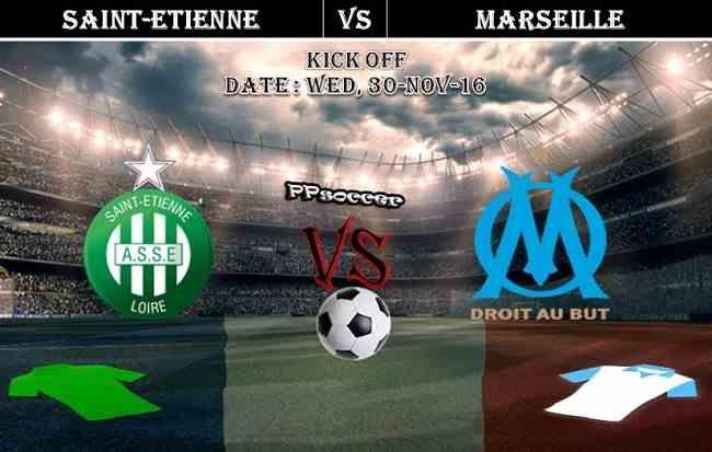 Saint Etienne Vs Marseille 30 11 2016 Predictions Ppsoccer Soccer Predictions Predictions Marseille