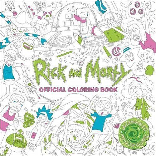 Rick and Morty Official Coloring Book: Amazon.com.mx: Libros   xmas ...