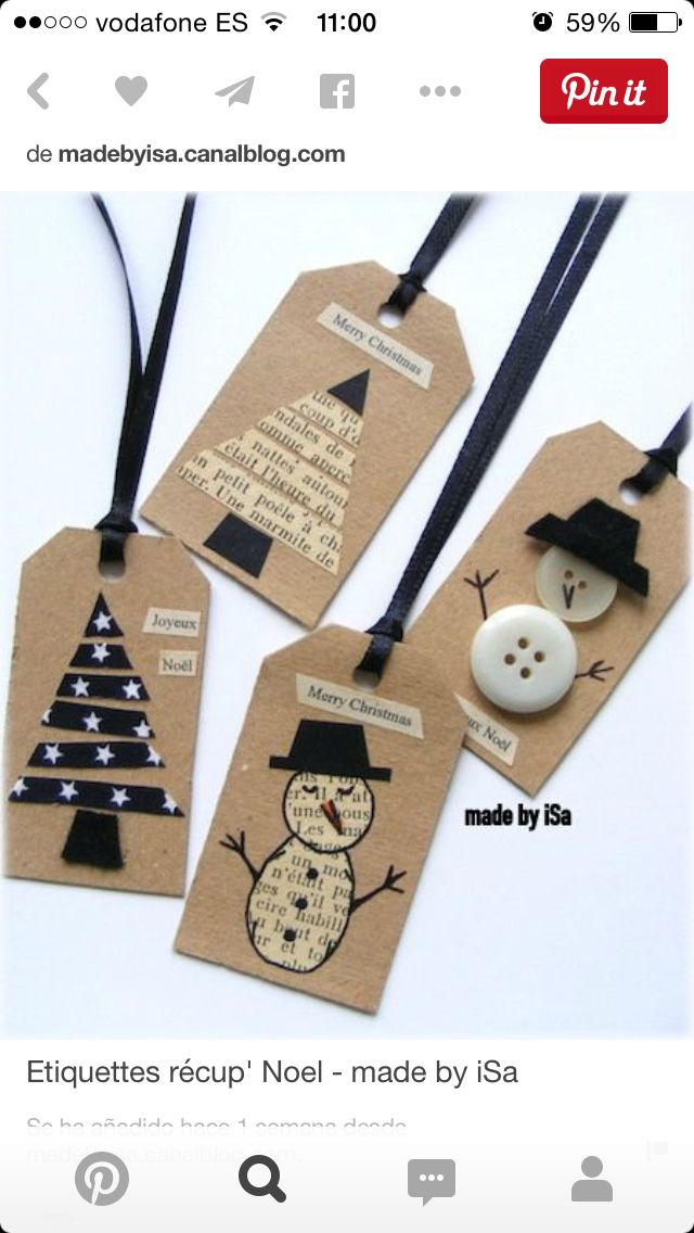 Christmas Gift Tags Pinterest.Etiquetas Beautiful Tags Pinterest Vianoce Balenie
