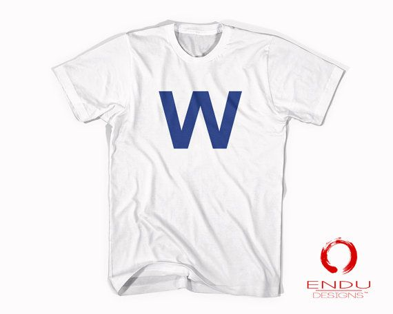 Baseball Fly the W Chicago Cubs Inspired Tumblr Cubbies