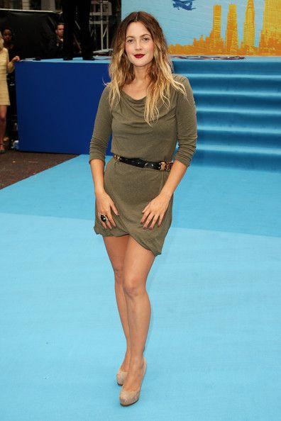 Drew Barrymore in McQ dress