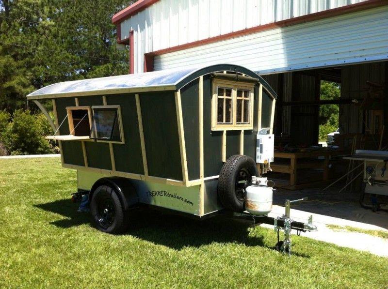 trekker trailers » gypsy vardo wagon | glamping | pinterest | tiny