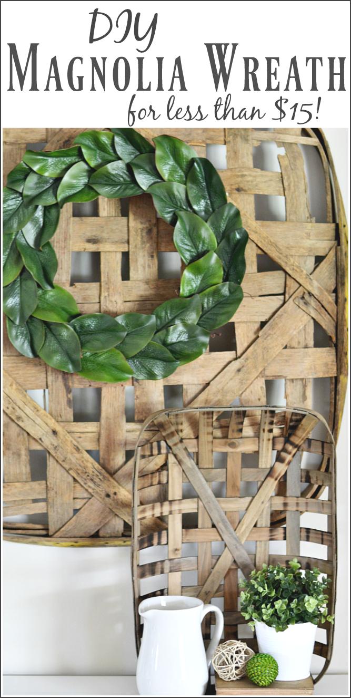 Photo of DIY: Magnolia wreath (for less than $ 15)