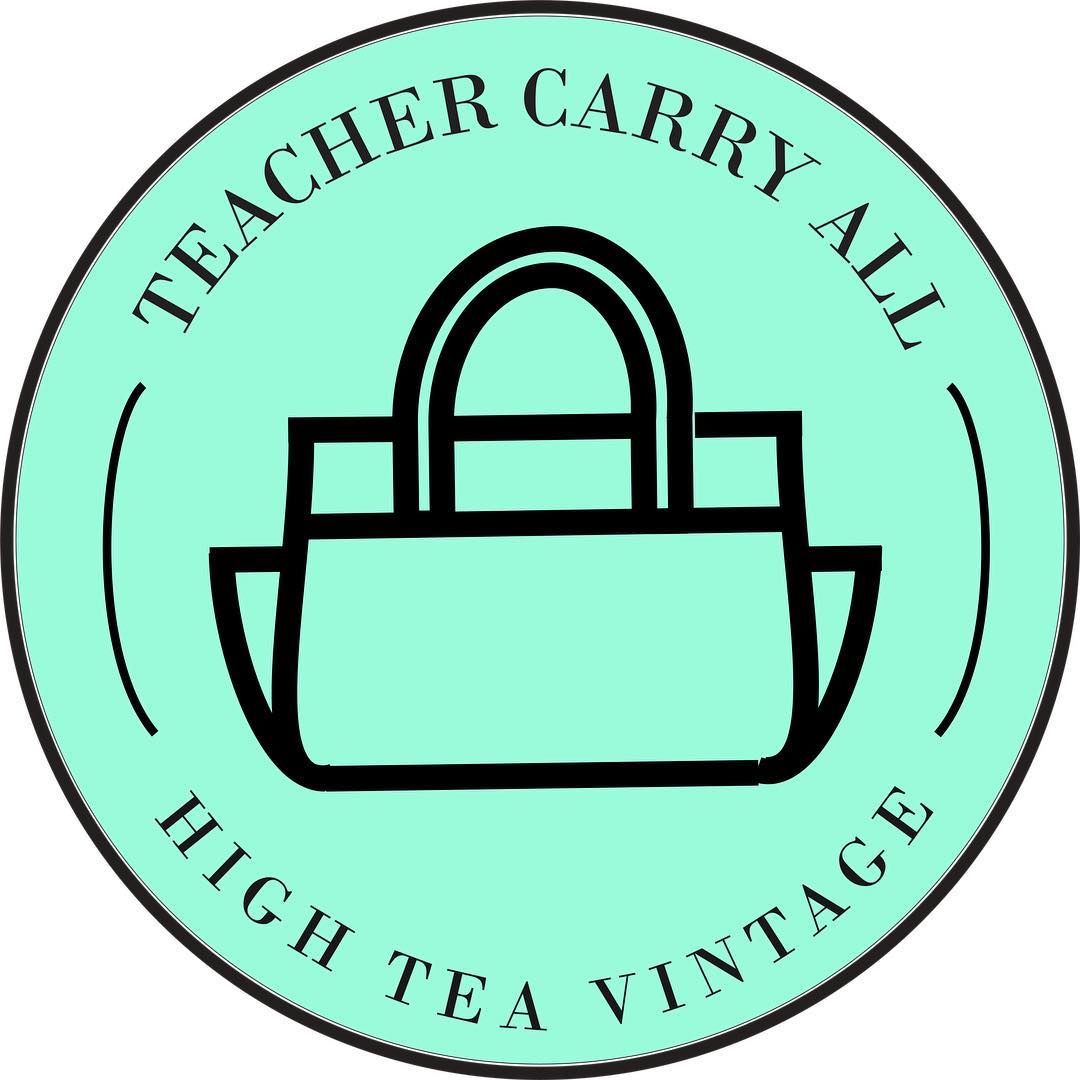 It S Offical We Have A Logo Especially For Our Teacher Carry All Bags Super Excited So When You Spot This Logo You Kno In 2020 Teacher Bags Vintage Tea Carry All Bag