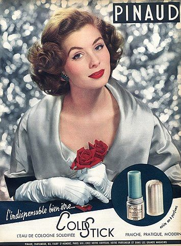 Pinaud (Cosmetics) 1953 Coldstick Rose