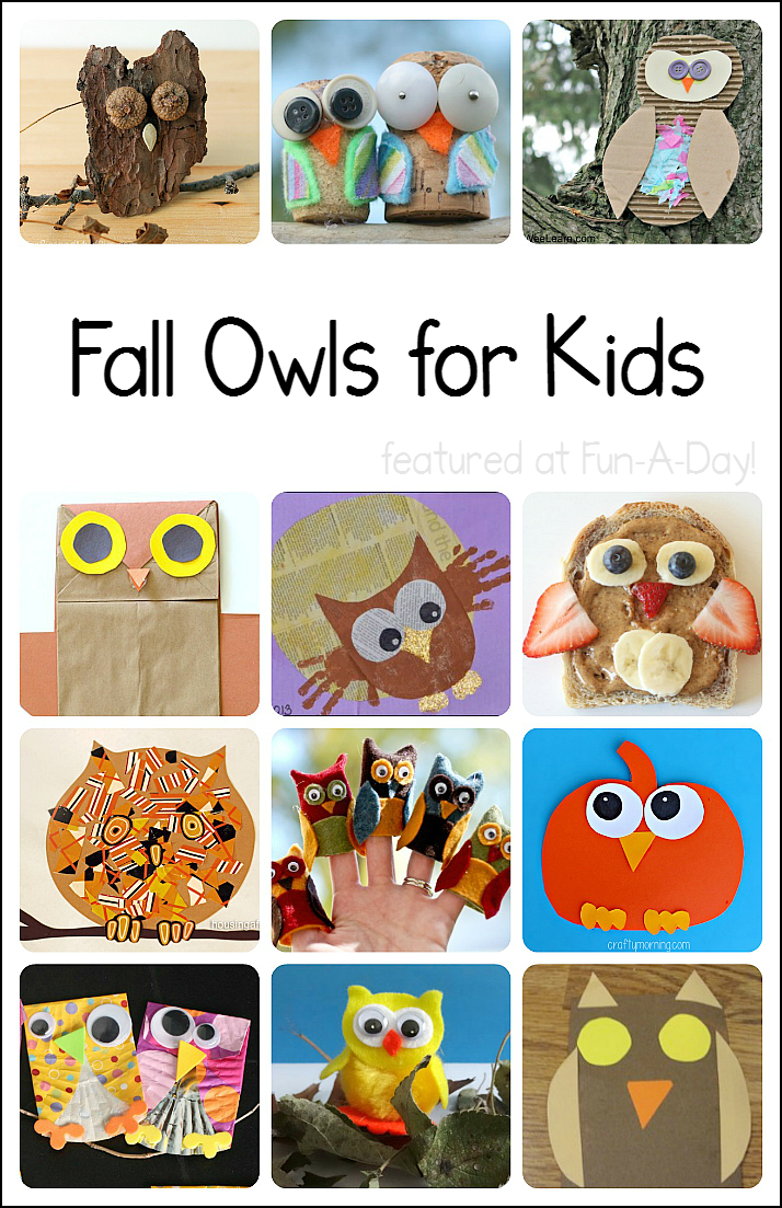 Fall Owl Crafts And Activities For Kids Craft Ideas Pinterest