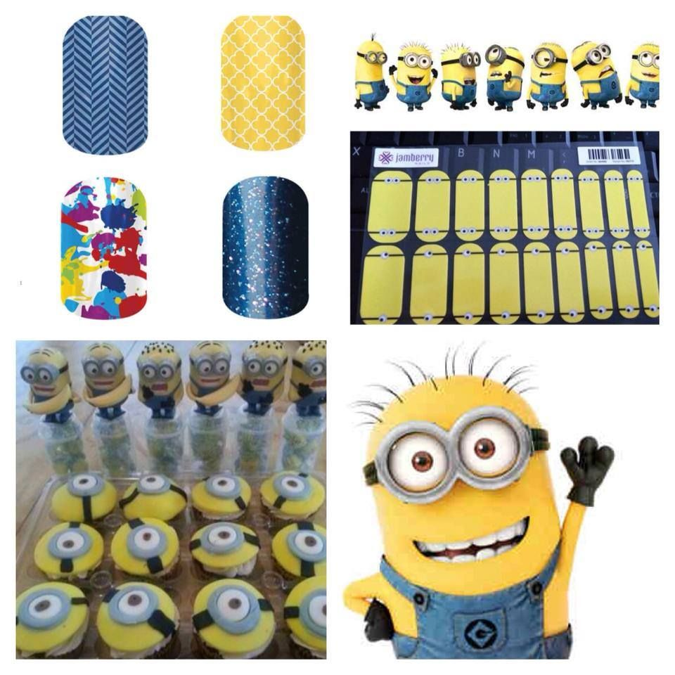 Minions?! Yes please | Nail Art Studio | Pinterest | Arte de uñas ...