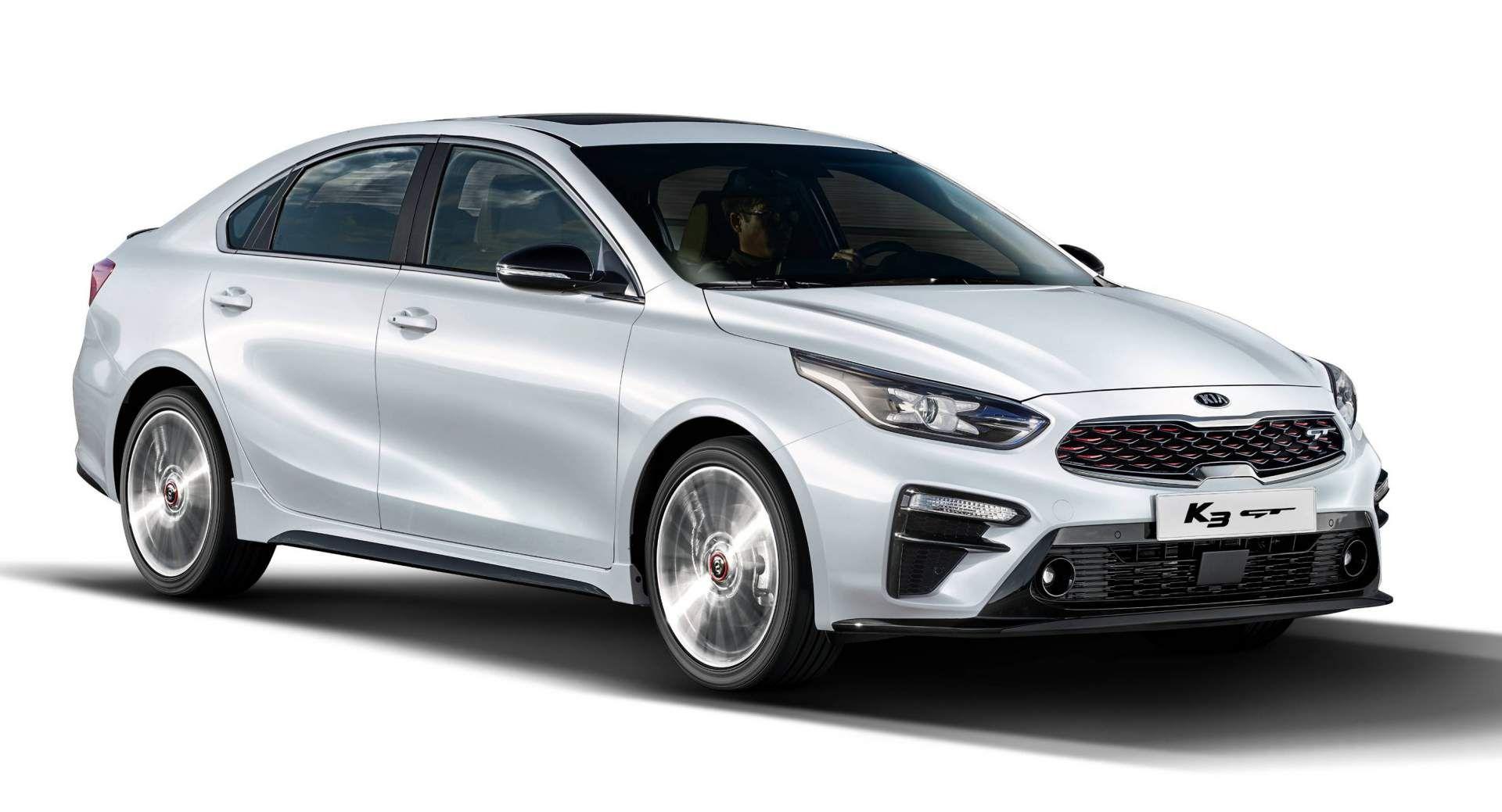 2019 Kia K3 Gt Sedan Previews America S Forte Gt Carscoops Kia Sedan Hyundai Cars