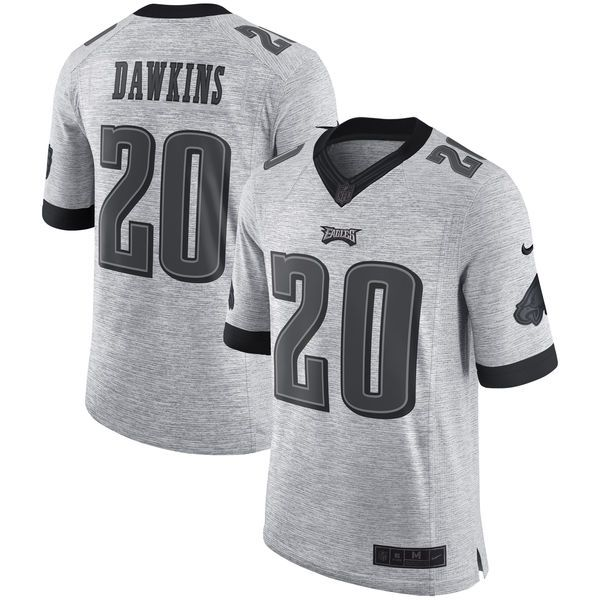 Discount Brian Dawkins Philadelphia Eagles Nike Retired Gridiron Gray II  0CTQ5fzi