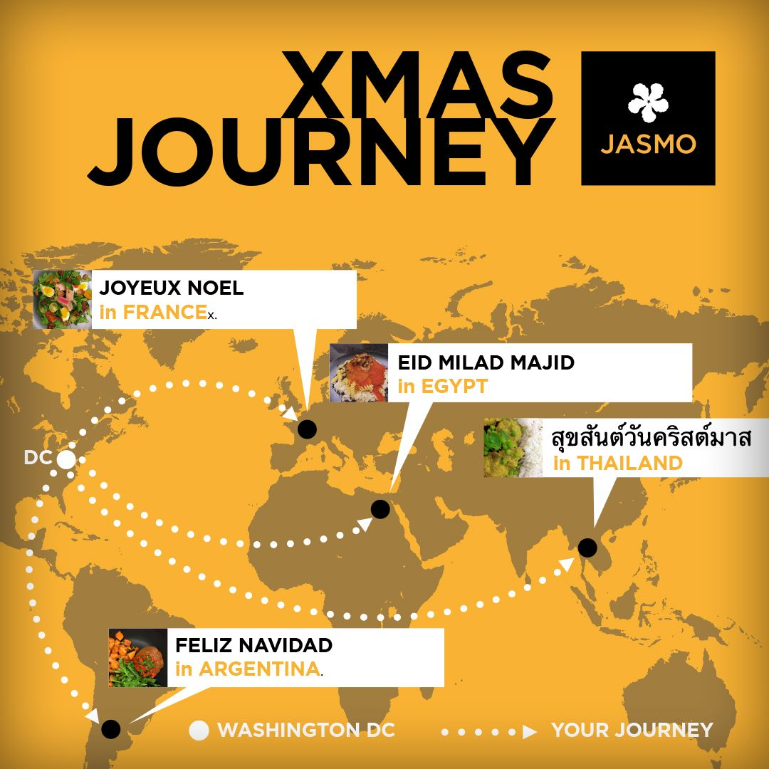 JASMO journey in 2018. Check our menus at https://jasmo.me. With